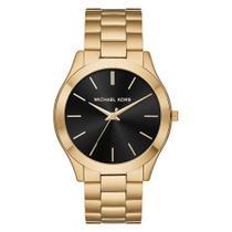 Relógio Michael Kors Dourado Slim Runway MK8621 -