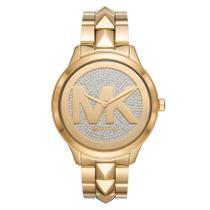 Relógio Michael Kors Feminino Ref: Mk6714/1dn MK Dourado -