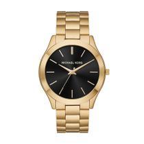 Relógio Michael Kors Feminino Slim Runway Dourado - MK8621/1DN -
