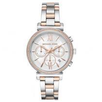 Relógio Michael Kors Feminino Sofie Bicolor MK6558-1KN - Bruna Tessaro