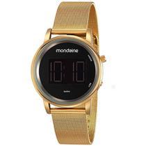 Relógio Mondaine Digital Dourado - 53787LPMVDE1 -