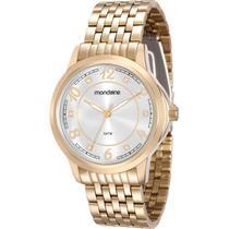 Relógio Mondaine Feminino Dourado 83336LPMVDE2 -