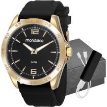 Relógio Mondaine Masculino Com Carregador 83479GPMVDI2K1 -
