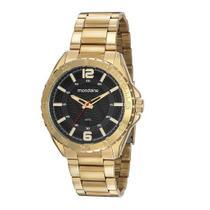 Relógio Mondaine Masculino Dourado Analógico 53827GPMVDE1 -