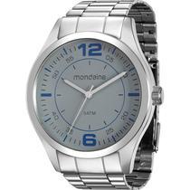 Relógio Mondaine Masculino Prata 78742G0MVNA2 -