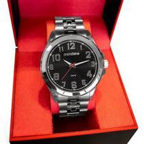 Relógio Mondaine Masculino Prata Analógico 83456G0MVNE1 -