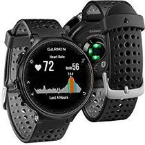 Relógio Monitor Cardíaco De Pulso Gps GARMIN FORERUNNER 235 Preto -