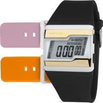 Relógio MORMAII KIT digital borracha FZW/T8E -