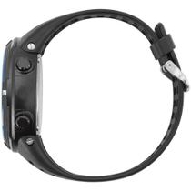 Relógio Mormaii Masculino Digital Militar Wave Mo3590aa/8a Preto/Azul -