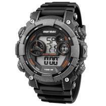 Relógio MORMAII masculino digital MO12579B/8Y -