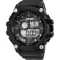 Relógio Mormaii Masculino Digital MO3530A/8V Preto/Verde -