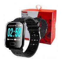 Relógio MTR 23 Smartband Smartwatch Notificações  Bluetooth - Tomate