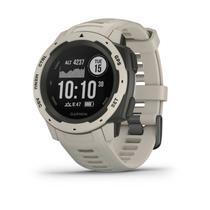 Relógio Multiesportivo Garmin Instinct Branco Com Monitor Cardíaco e GPS -