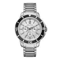 Relógio Nautica Masculino Metalico -