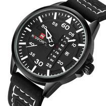 ab0d20384a1 Relogio Naviforce Luxo Lançamento Modelo 9074