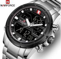 Relógio Naviforce Masculino Esporte/Social Muitifuncional -