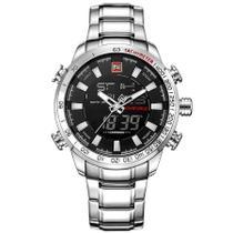 Relógio Naviforce Masculino Modelo 9093 Analógico E Digital -