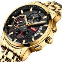Relógio Nibosi 2358 Masculino Cronógrafo Quartzo -