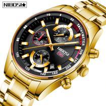 Relógio Nibosi 2375 Sport Dourado -