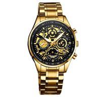 Relógio Nibosi 2385 esqueleto -