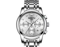 Relógio nibosi prateado -