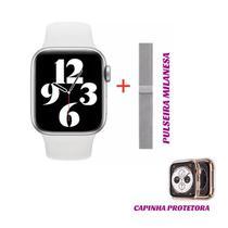 Relógio Novo Hw19 Tela 1.77 Infinita Smartwatch -