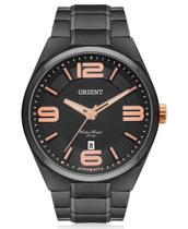Relógio Orient Analógico Masculino Aço Negro MPSS1003 P2PX -