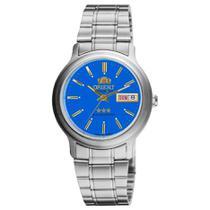 Relógio ORIENT Automático masculino aço azul 469WA1AF A1SX -