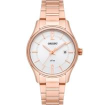 Relógio Orient Feminino Rosê FRSS1037S2RX Analógico 5 Atm Cristal Mineral Tamanho Pequeno -