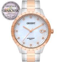 Relógio Orient Feminino Swarovski FTSS1115 B1SR PRATA ROSE OFERTA! -