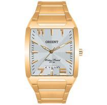Relógio ORIENT masculino analógico dourado GGSS1007 S2KX -