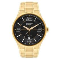 Relógio Orient Masculino Analógico Dourado mgss1136 p2kx -