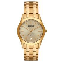 Relógio Orient Masculino Analógico Dourado MGSS1179 C1KX -