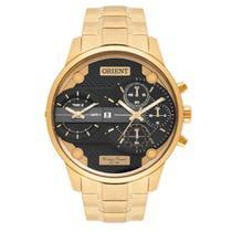 Relógio Orient Masculino Dual Time Mgsst001 P1kx -
