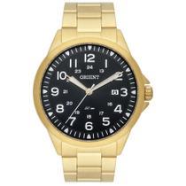 Relógio Orient Masculino Ref: Mgss1199 P2kx Casual Dourado -