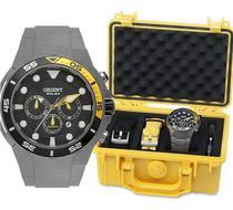Relógio Orient Seatech Solar Titânio Mbttc014 - Original+nfe -