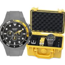 Relógio Orient Titânio Sea Tech Mbttc014 - 500m Solar -
