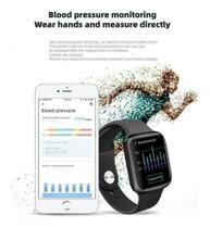 Relógio P90S Smartwatch Sport Bluetooth Monitor Fitness -