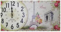 Relogio Para Parede Cozinha Vintage Retro Decoracao Monumentos Paris (XIN-04) - Braslu