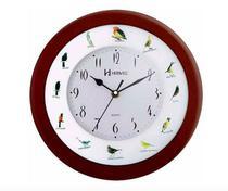 Relógio Parede Canto De Pássaros Brasileiros Herweg 6370 -
