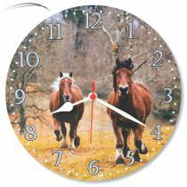 Relógio Parede Cavalo Fazenda Country Área Cozinha Festa 30cm - Relógil