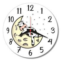 Relógio Parede Cozinha Vaquinha Vaca Sala Vintage Retrô 30cm - Relógil