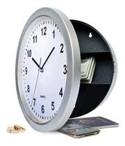 Relógio Parede Esconderijo Cofre Secreto Fundo Falso - Minymix