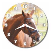 Relógio Parede Fazenda Cavalo Country Cozinha Festa 30cm - Relógil