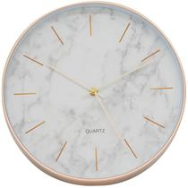 Relógio Parede Fundo Branco 30x30cm - Tascoinport