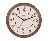 Relógio Parede Herweg 6658 Canto Pássaros Brasileiros -