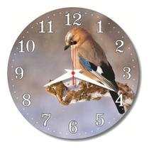 Relógio Parede Jay Natureza Cozinha Passarinho 30cm - Relógil