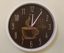 Relógio Parede Moderno Cozinha Café Herweg 660014 -