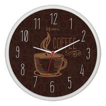 Relógio Parede Moderno Cozinha Café Herweg Original -