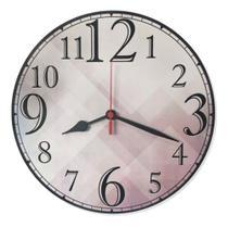 Relógio Parede Número Grande Colorido Barato Cozinha 30cm - Relógil